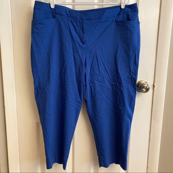 Lane Bryant Pants - 2/$15 or 3/$20- Lane Bryant blue capris